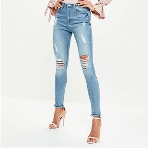 Missguided Highwaist Skinny Jeans